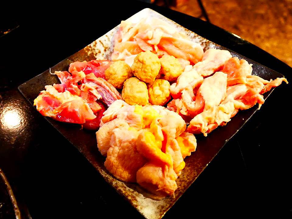 日式雞肉拼盤