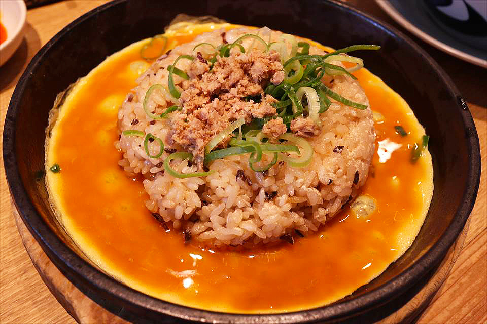 日式鐵板蛋炒飯