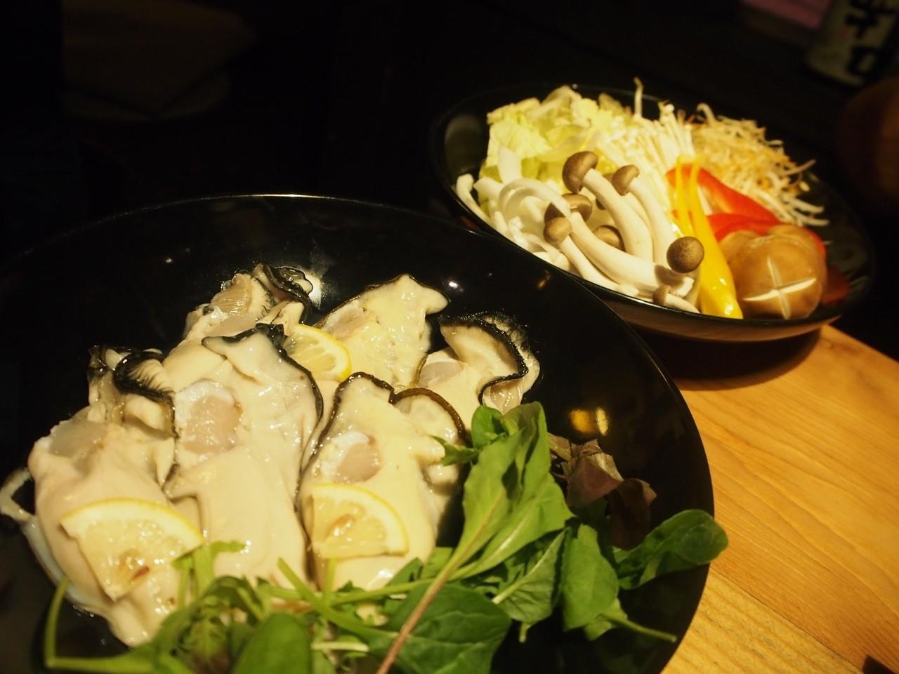 大阪居酒屋牡蠣拼盤