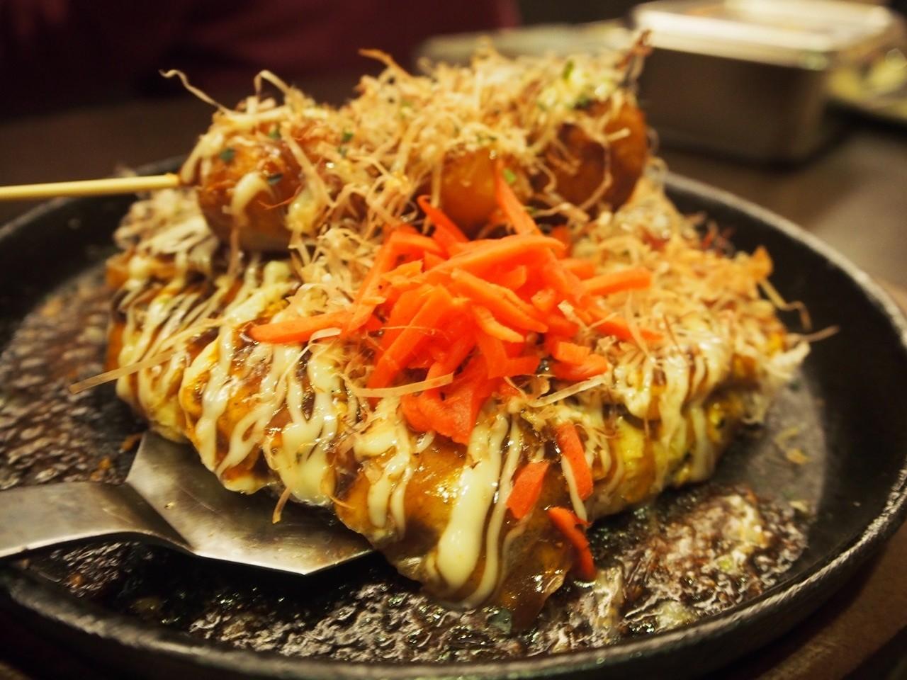 日本大阪燒章魚燒