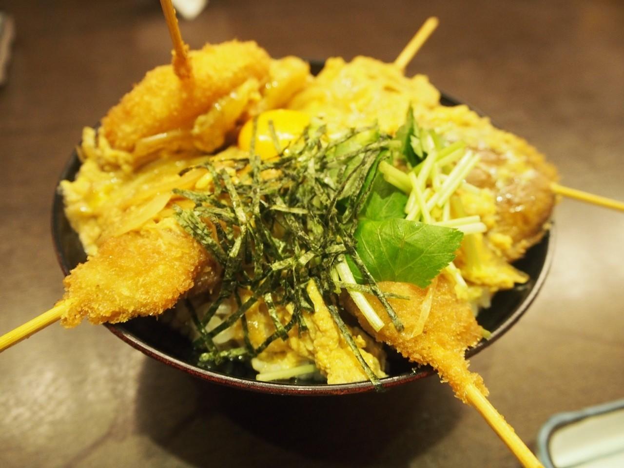 日本大阪橫綱炸串丼飯