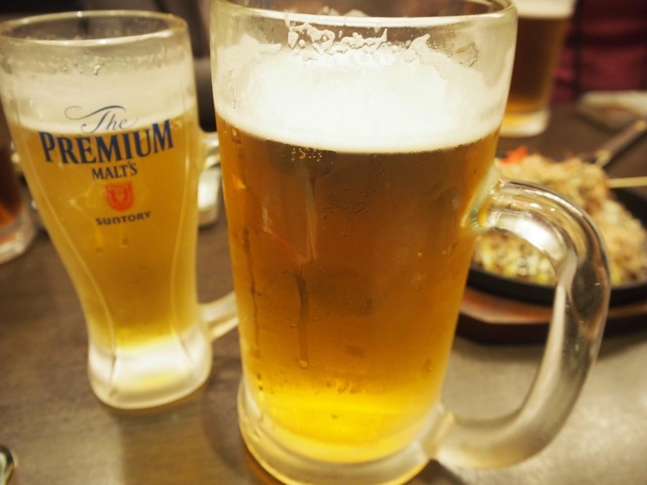 日本大阪超大杯生啤酒