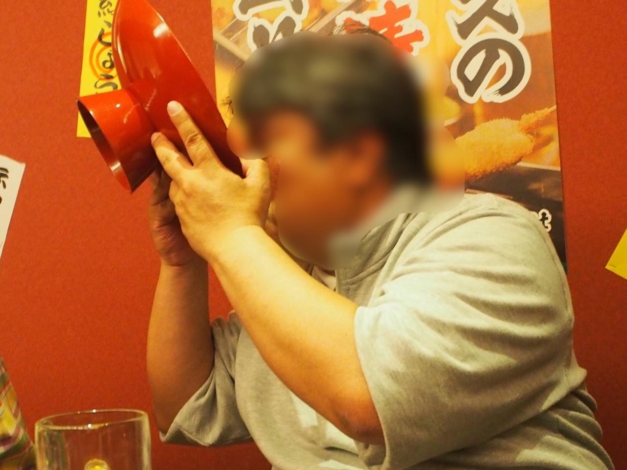 挑戰橫綱大碗公日本酒