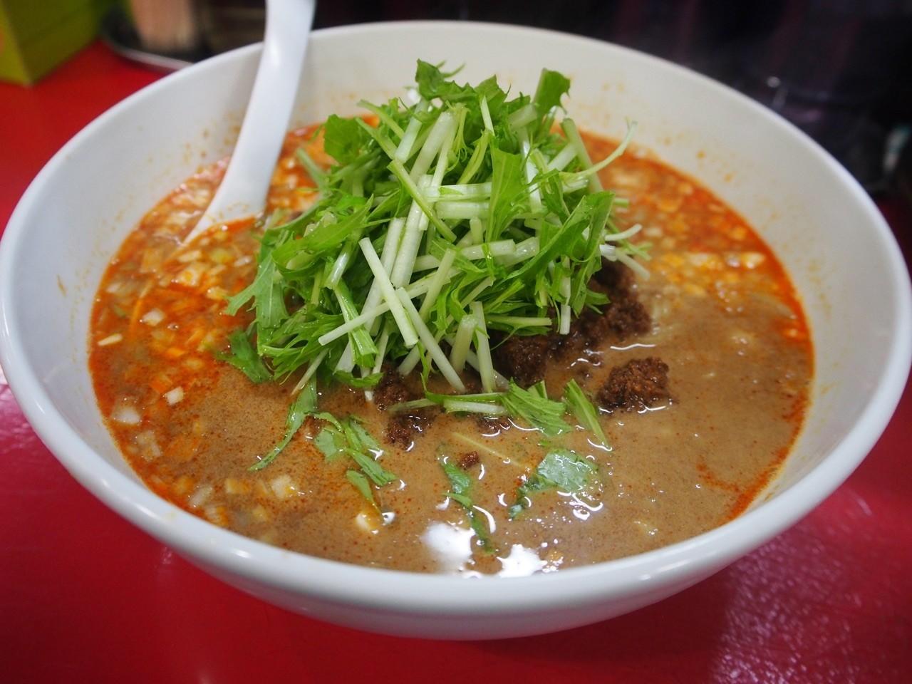 大阪濃厚金胡麻担担麺