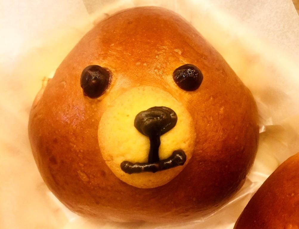 日本小熊麵包
