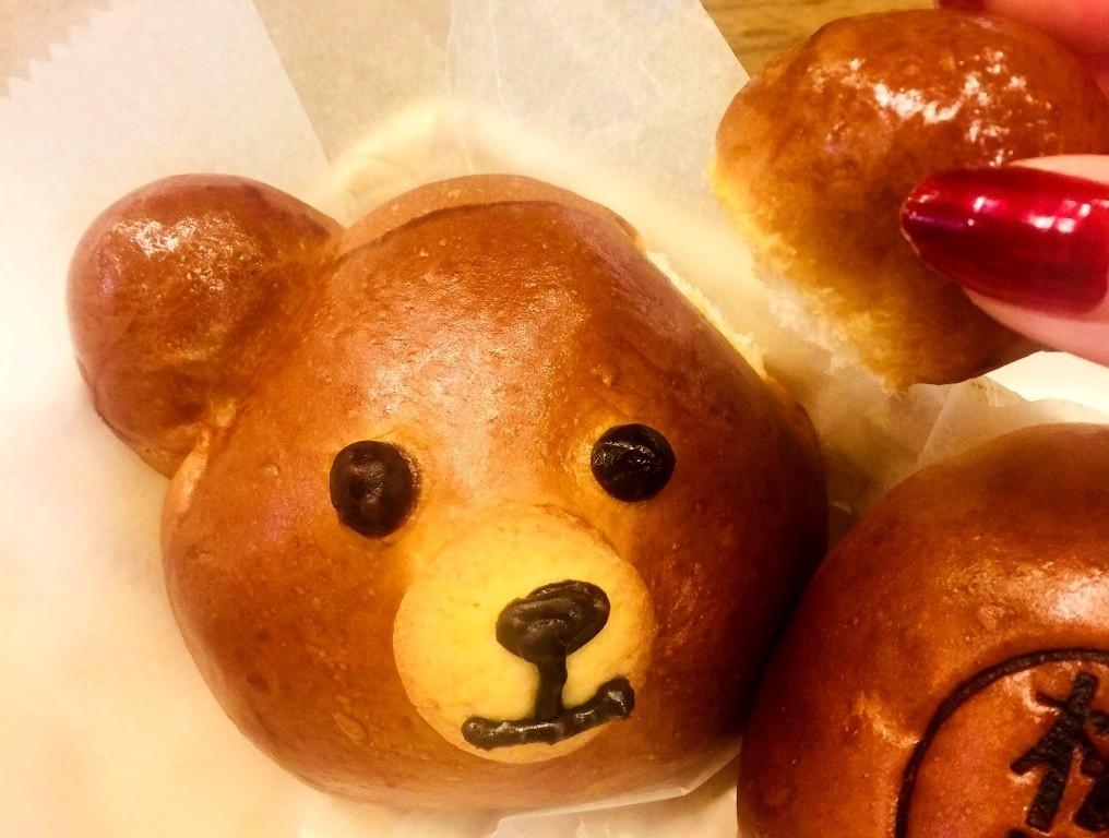 日式手工製作小熊麵包