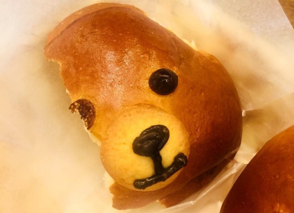 可愛小熊麵包