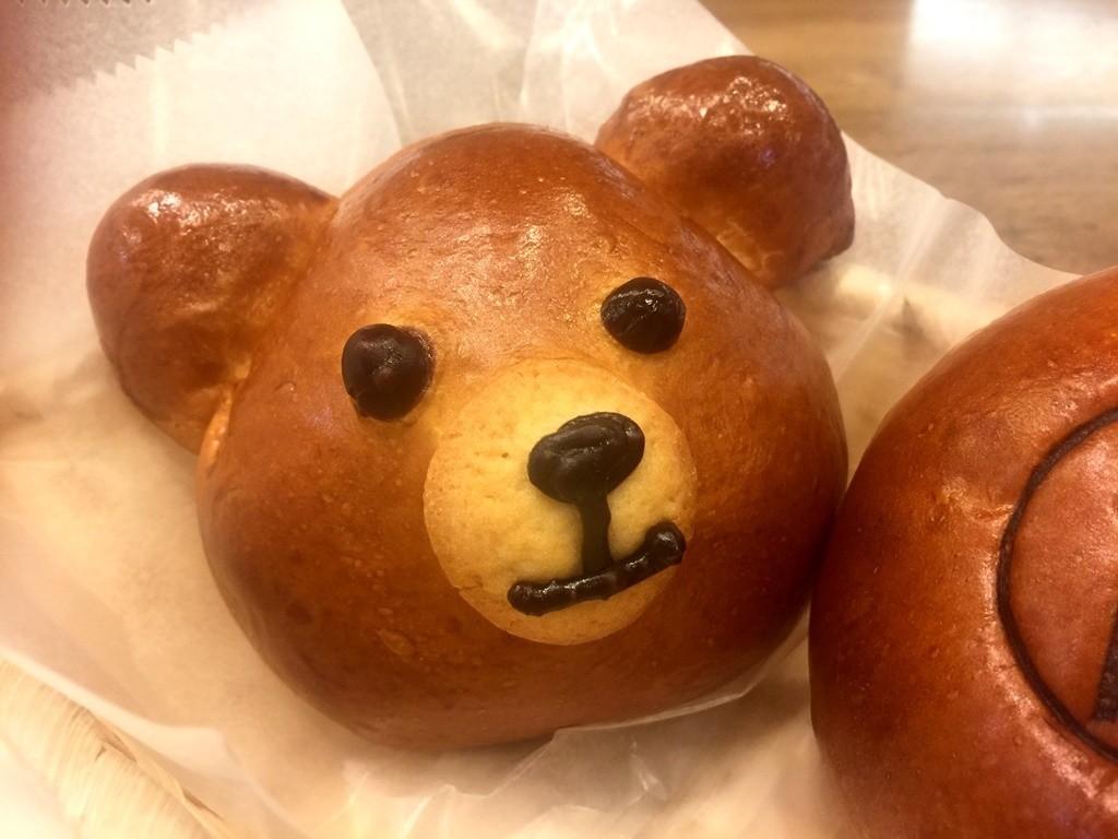 手工製作小熊麵包