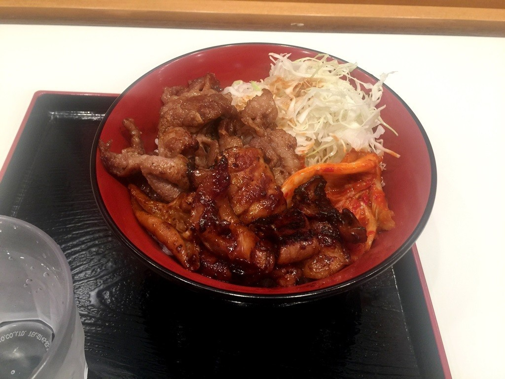 阪神綜合燒肉丼