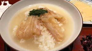 菜食健美禪園鯛魚茶泡飯