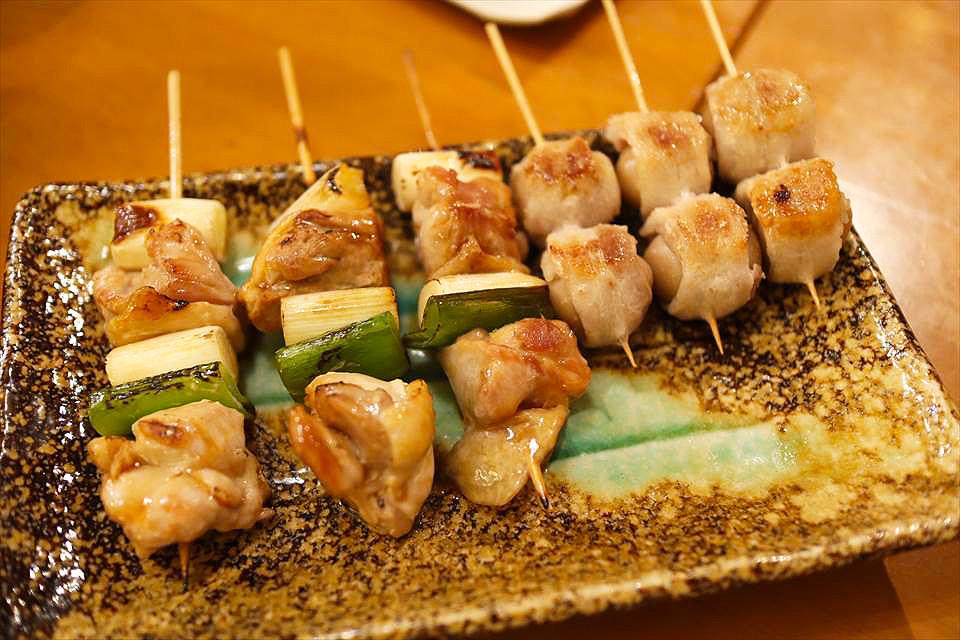 大阪蔥肉串