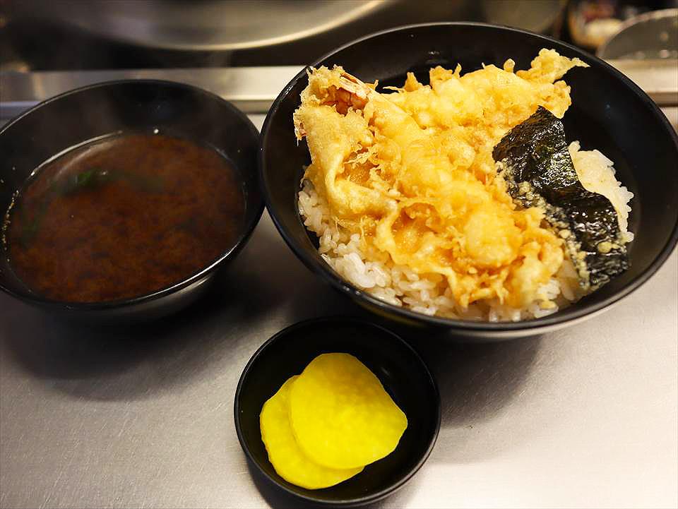 大阪天婦羅蓋飯坂町の天丼
