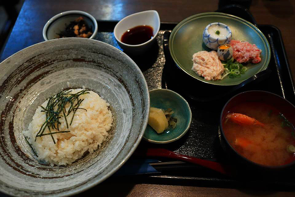 Hamanoka浜の香山藥蟹肉丼