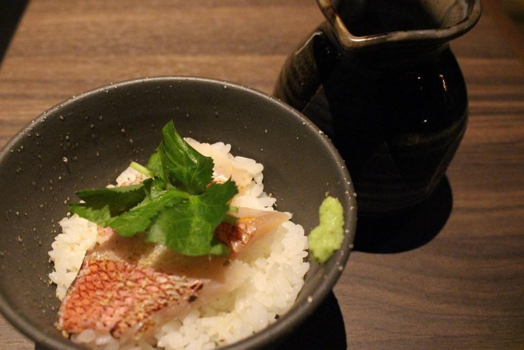 小红金眼鲷高湯茶泡飯