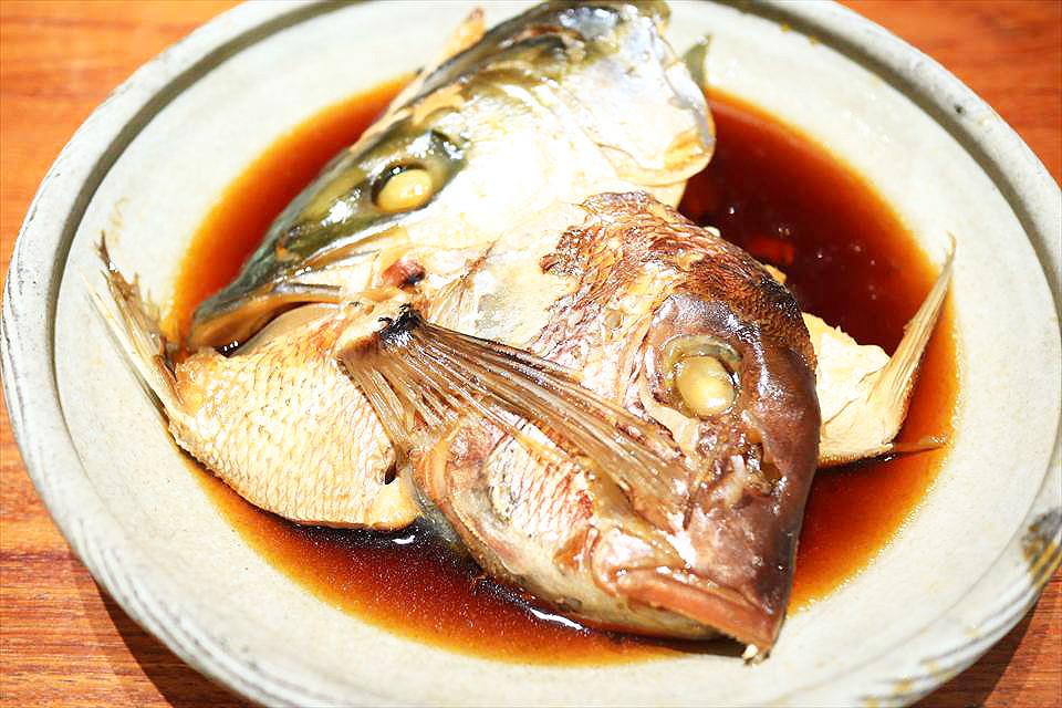 魚匠銀平燉煮魚下巴定食