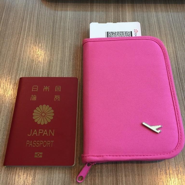 2017黃金周的台灣單人旅行-護照
