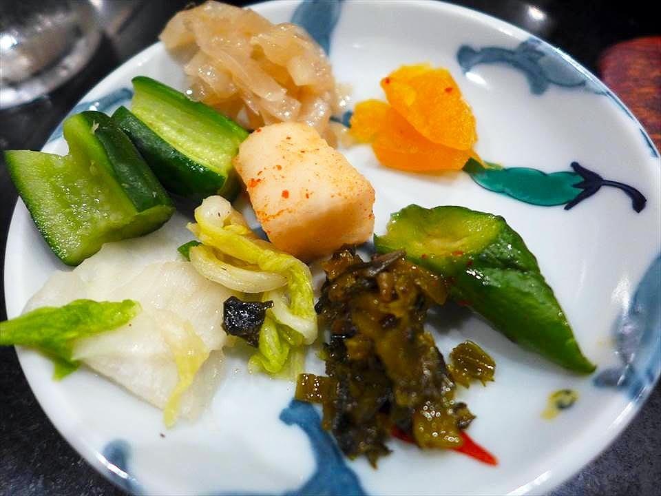 大阪牛排割烹料理 Adachi-醃漬小菜