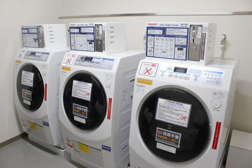 3F的投幣式洗衣間(需付費)
