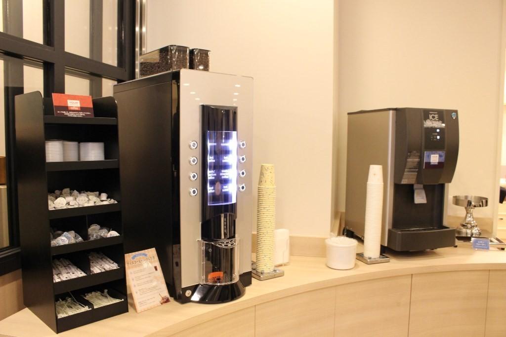 コーヒーやお茶のサービス