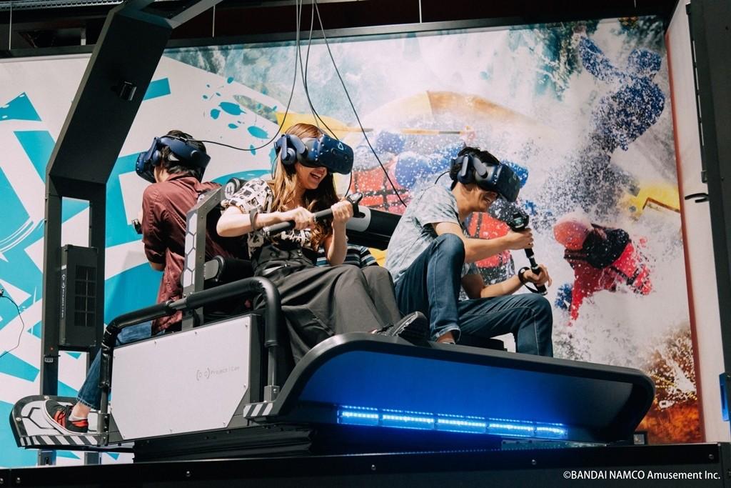 「這個臨場感好厲害!」次世代VR設施『VR ZONE OSAKA』在梅田『HEP FIVE』誕生了!