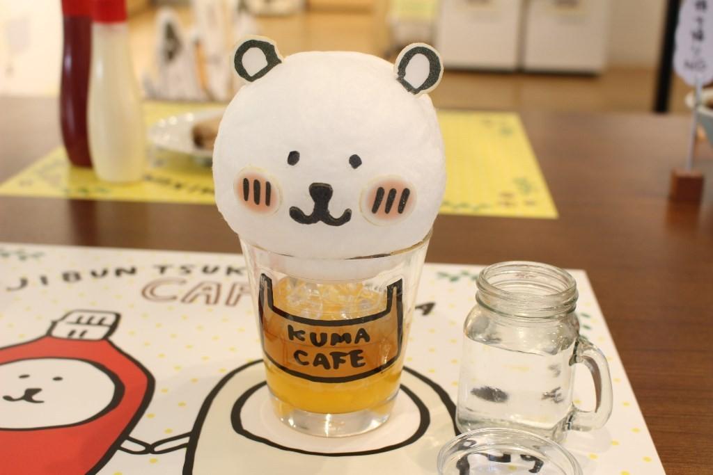 ★Nagano老師設計★倒入另外瓶裝的汽水享用的「令人憧憬的棉花糖汽水(憧れていた わたあめソーダ)」(890日圓)