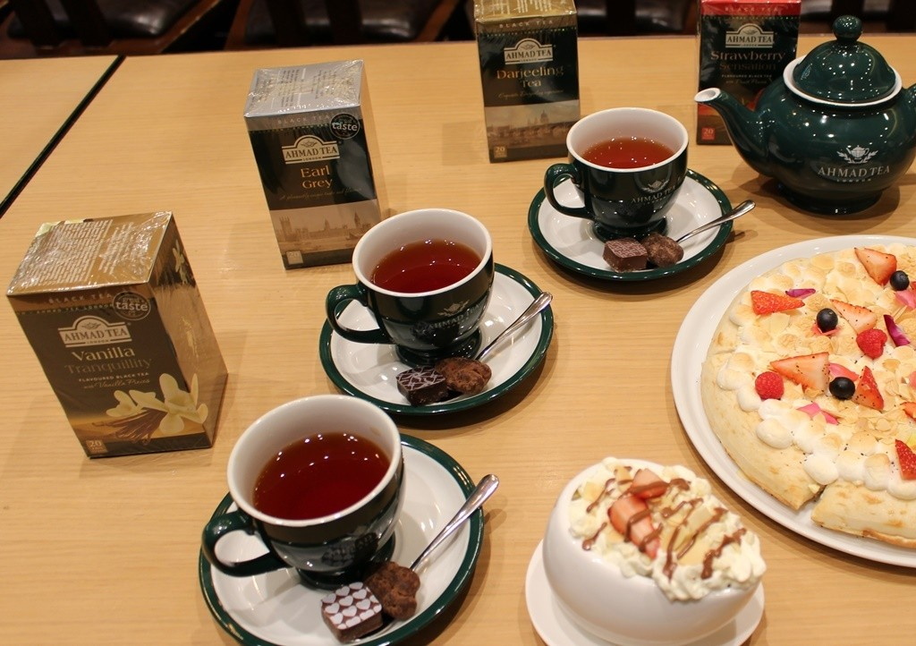 『MAX BRENNER』與英國紅茶品牌『AHMAD TEA』合作推出2019年情人節限定商品!