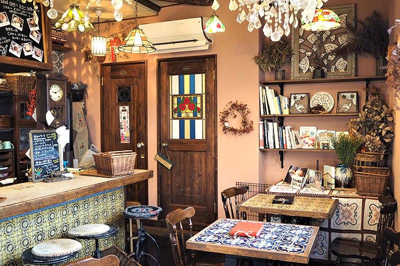 【結束營業】在南船場懷舊空間『cafe mimosa(カフェ みもざ)』享用季節水果塔和咖哩