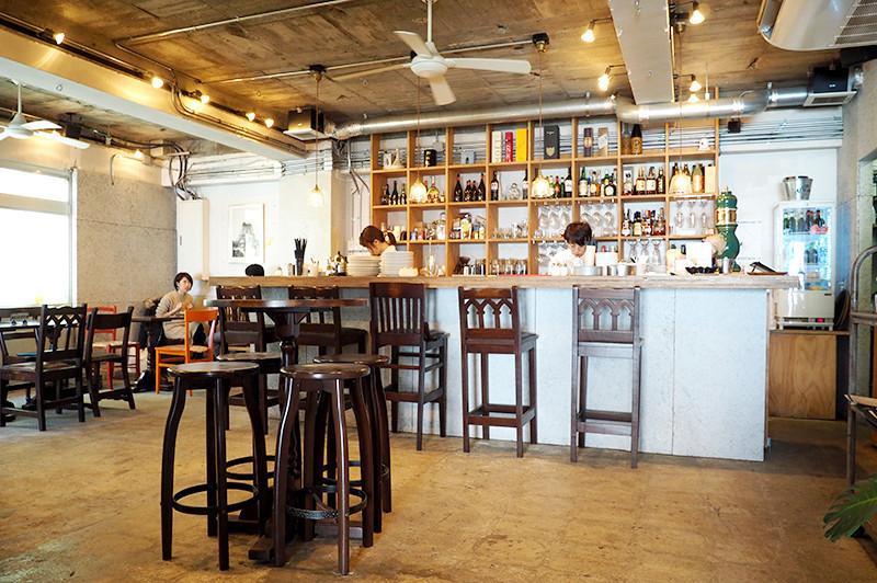 位在具有古早風情的大阪中崎町的『1930 CAFE』度過特別時光