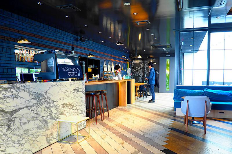 在弁天町第三波咖啡系列咖啡館『Work Bench Coffee Roasters Osaka』品嘗果香濃郁的咖啡