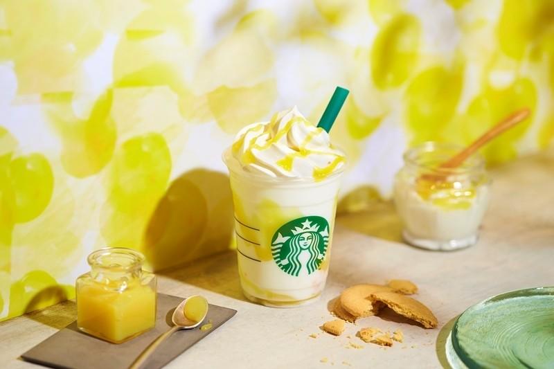 星巴克首次推出使用3種發酵食材的「檸檬優格發酵星冰樂(レモン ヨーグルト 発酵フラペチーノ)」,於6/19(三)隆重登場