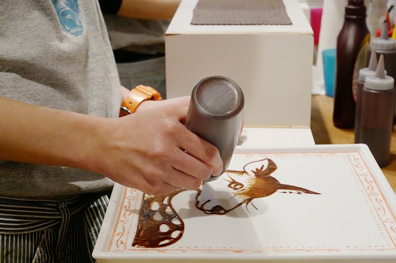 【大阪谷町六丁目】店內跟料理都是藝術品!來谷町六丁目『art&sweets cica』享用宛如藝術般的鬆餅