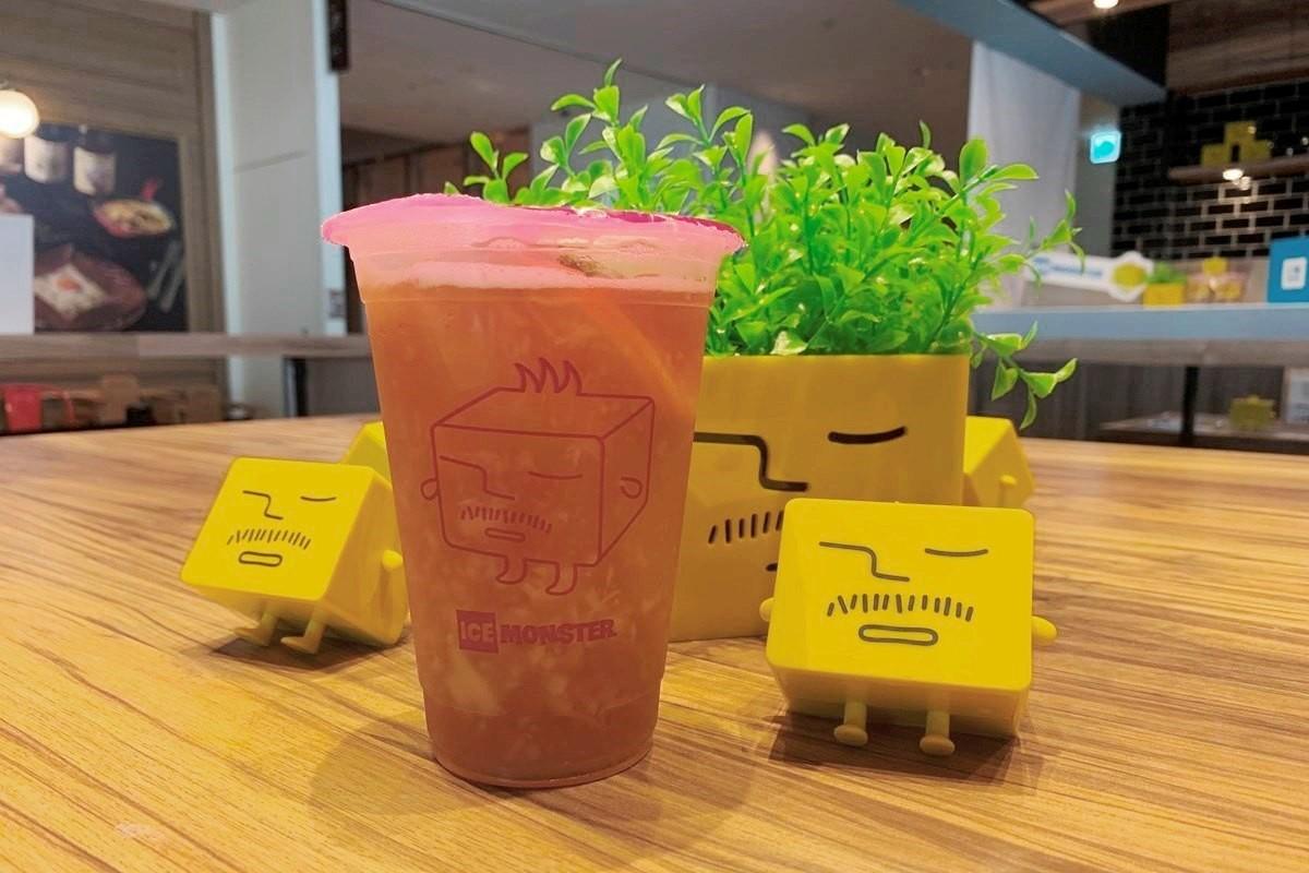 【大阪・梅田】台灣來的刨冰店『ICE MONSTER』,推出期間限定的「可爾必思」刨冰!