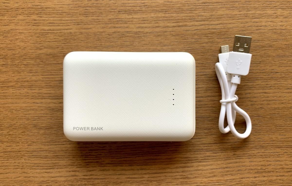 【3COINS】小型大容量行動電源跟吸盤+連接線組合包超方便!