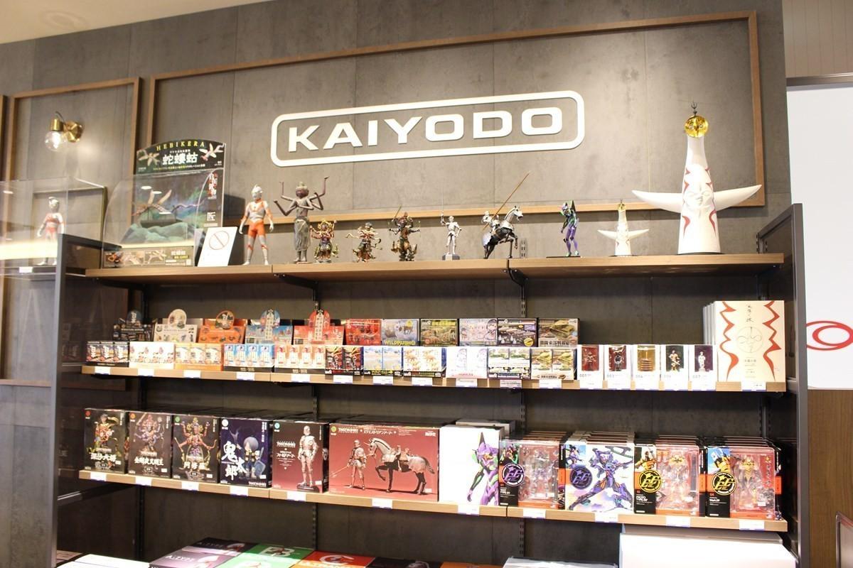 大阪咖啡廳|首次與模型製作公司『海洋堂』合作!『TULLY'S COFFEE KAIYODO 大丸心齋橋店』新開幕