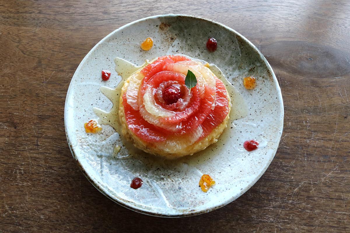 京都美食|祇園『金色百合亭(金の百合亭)』在『八坂神社』景色中享用季節和風聖代