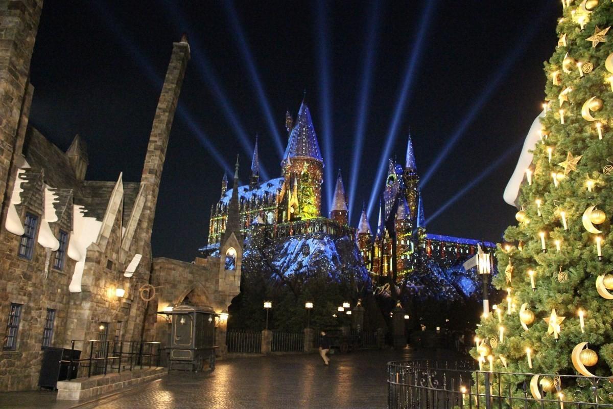 『日本環球影城(ユニバーサル・スタジオ・ジャパン)』「霍格華茲魔法之夜~冬季魔法~(ホグワーツ・マジカル・ナイト ~ウインター・マジック~)」即日起至1/13(一)舉辦中