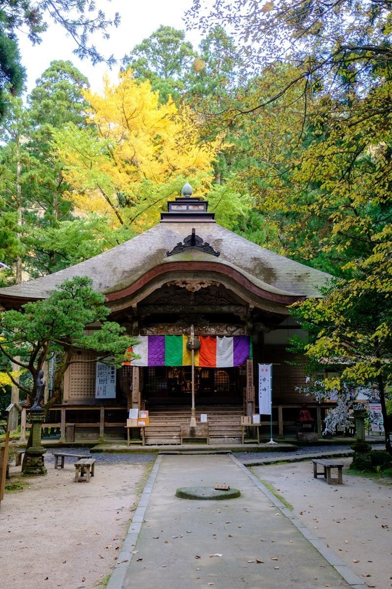 『三佛寺』的本堂
