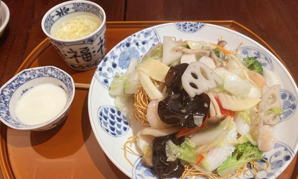 心齋橋美食|在『大丸心齋橋店』享用中式午餐。味道好、氣氛佳的『中國料理 梅梅 大丸心齋橋店』