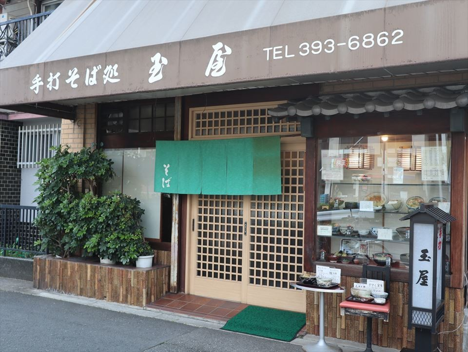大阪美食|與新大阪相隔1站,深受當地人喜愛的人氣蕎麥麵店!東三國『手打蕎麥麵店 玉屋(手打ちそば処 玉屋)』