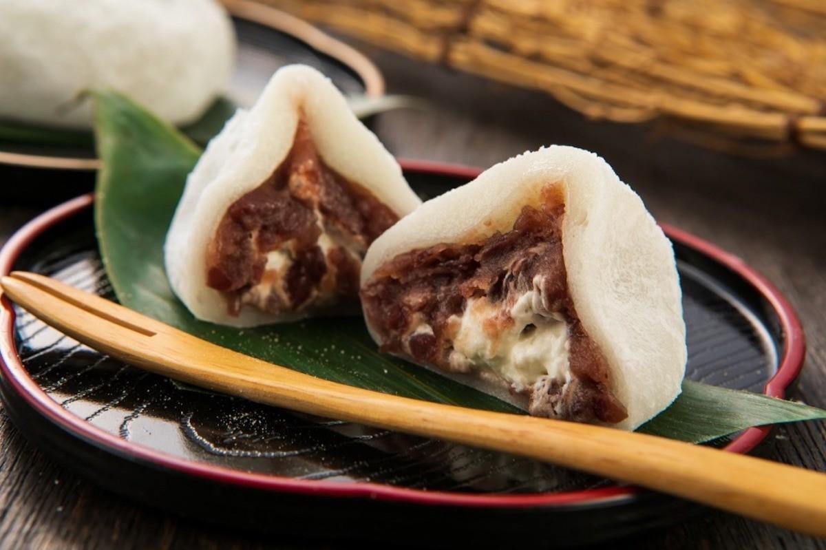 「鹽味鮮奶油大福(塩生クリーム大福)」(152日圓)