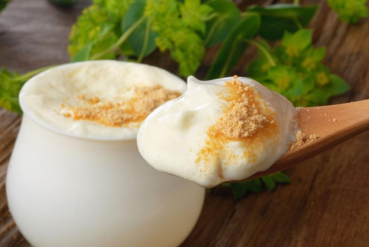 「純鮮奶油蕨餅(純生クリームわらび餅)」(330日圓)