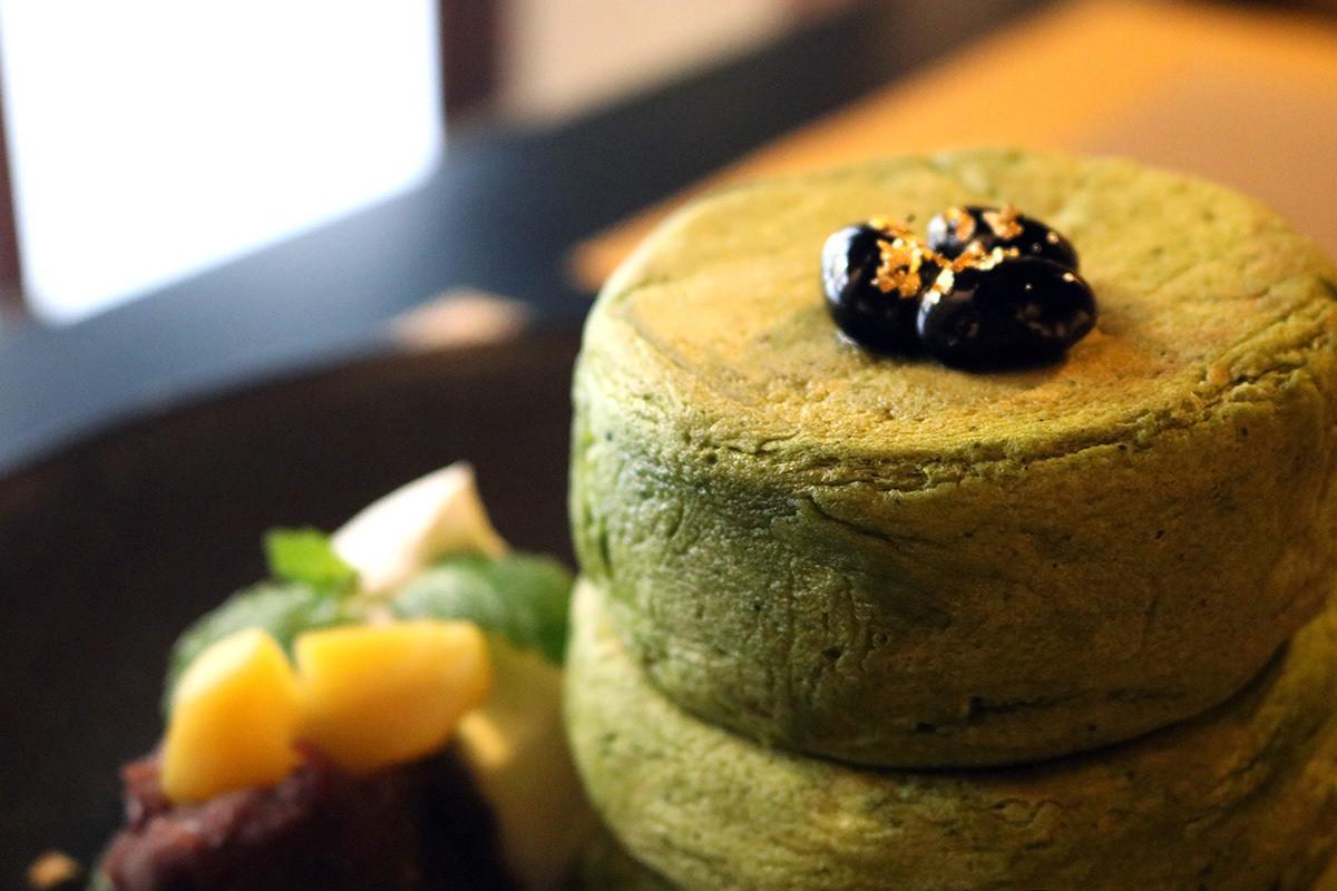 京都美食|在京町家享用抹茶鬆餅。河原町『MICASADECO&CAFE KYOTO』