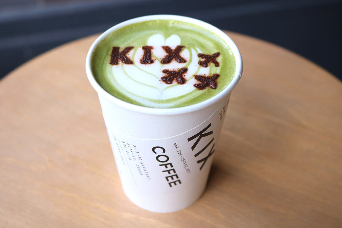 大阪美食|來一杯飛機拿鐵,輕鬆感受旅行氣氛!中崎町『KIX COFFEE』