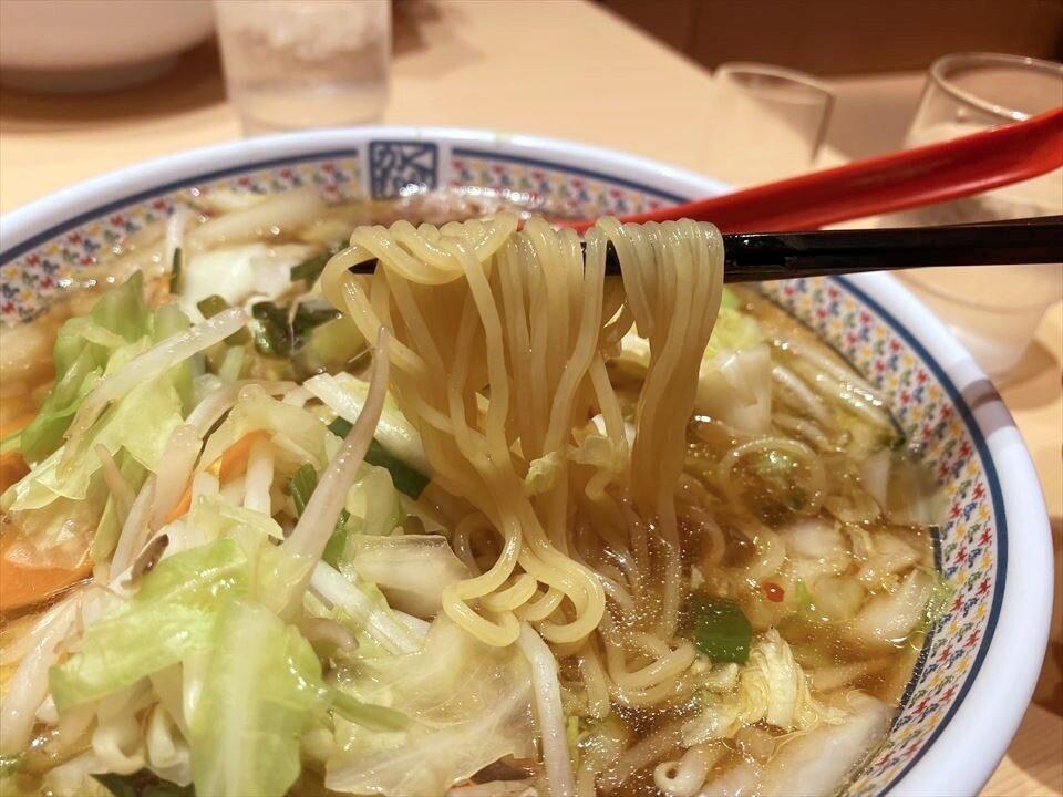 大阪美食|關西國際機場裡加了滿滿蔬菜的美味拉麵!『Dotonbori KAMUKURA 關西國際機場店(どうとんぼり神座 関西国際空港店)』