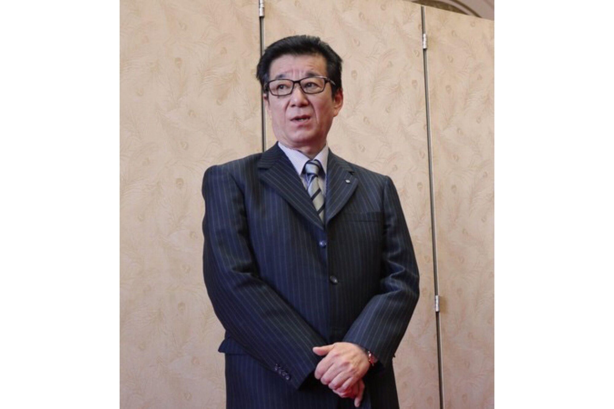 大阪市的松井一郎市長